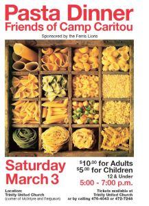 Pasta Dinner Flyer Image